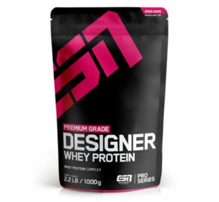 Designer Whey Protein eiwit, Strawberry 1000 gram