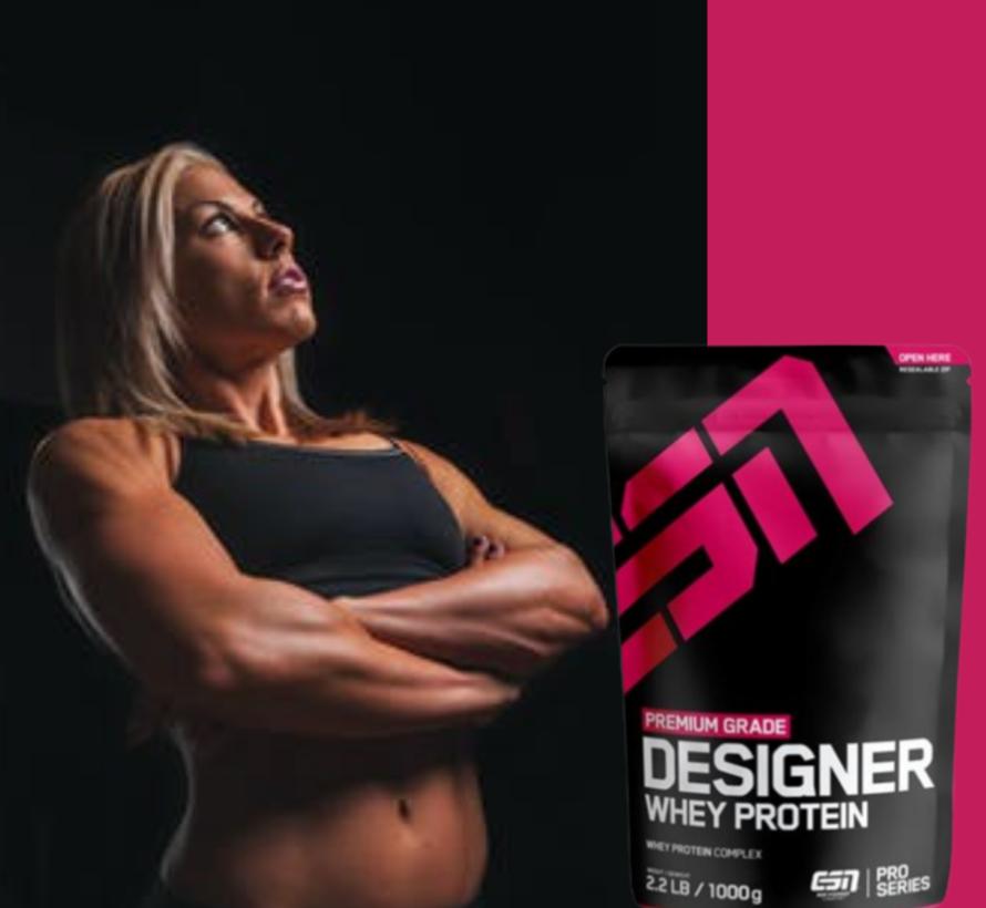 Designer Whey Protein eiwit, Cherry Yogurt 1000 gram