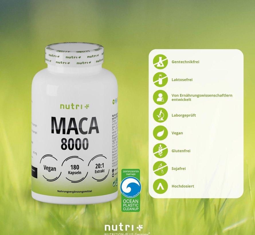Maca 8000, 180 capsules