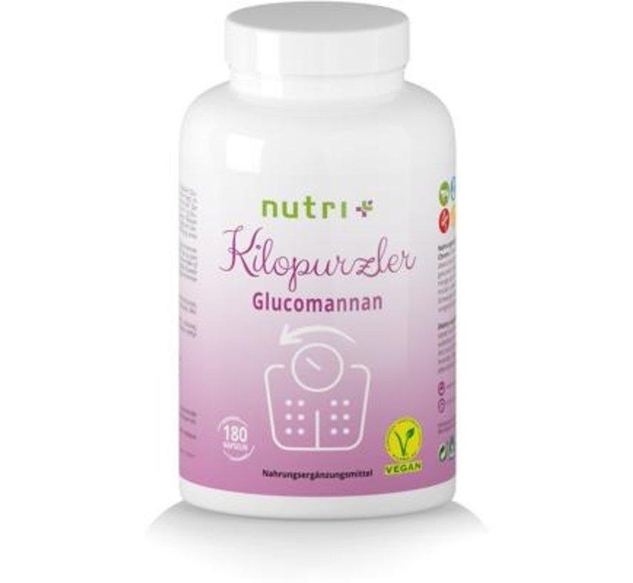 Kilopurzler Glucomannaan dieet, 180 capsules