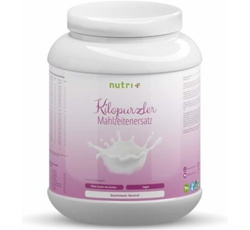 Nutri Plus Vegan dieet shake eiwit poeder, 1000 g, Chocolate