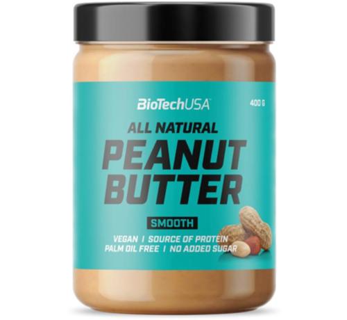 BioTechUSA Peanut Butter, 400 g, smooth