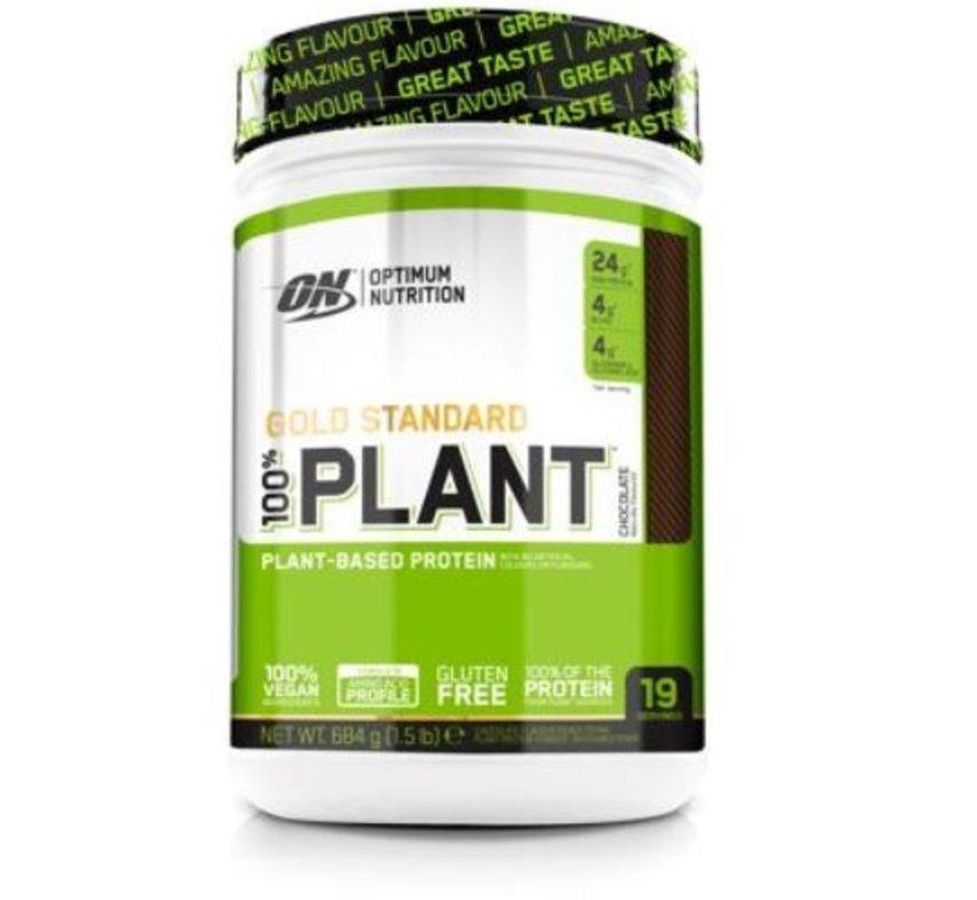 100 % Gold Standard Plant Protein eiwit, 684 g, Chocolate