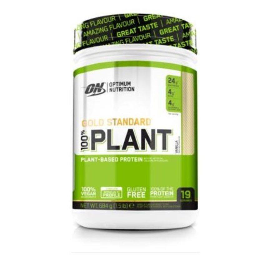 100 % Gold Standard Plant Protein eiwit, 684 g, Vanilla