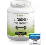 Nutri Plus veganistisch V-Gainer eiwit, vanille 2000 g