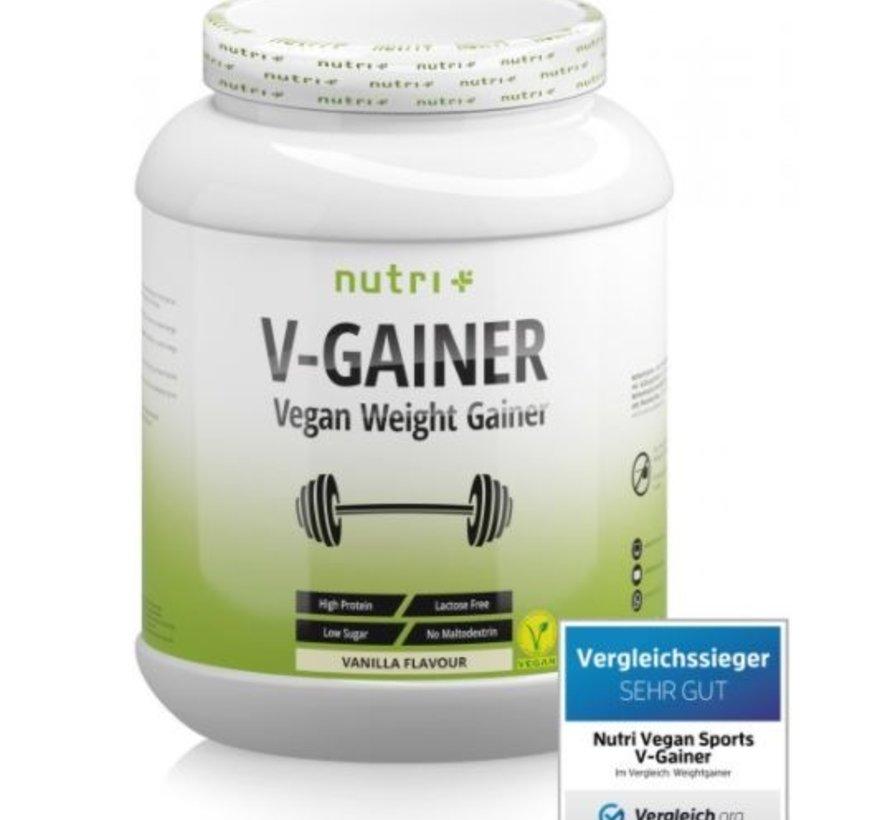 veganistisch V-Gainer eiwit, vanille 2000 g