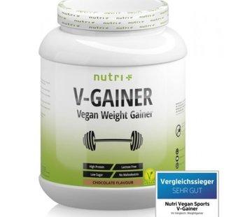 Nutri Plus veganistisch V-Gainer eiwit, chocolate 2000 g