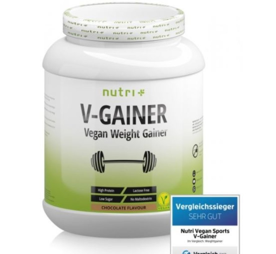 veganistisch V-Gainer eiwit, chocolate 2000 g