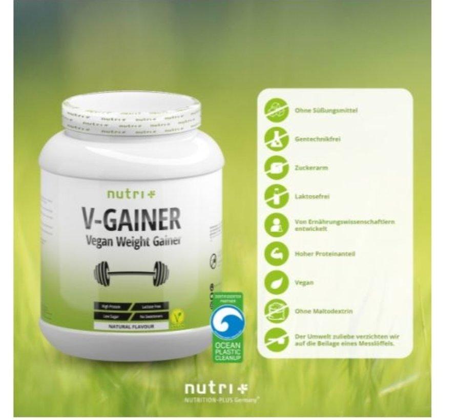 veganistisch V-Gainer eiwit, neutral 2000 g