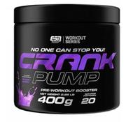 ESN  Crank Pump Pre-Workout Booster, 400 g, Blackberry