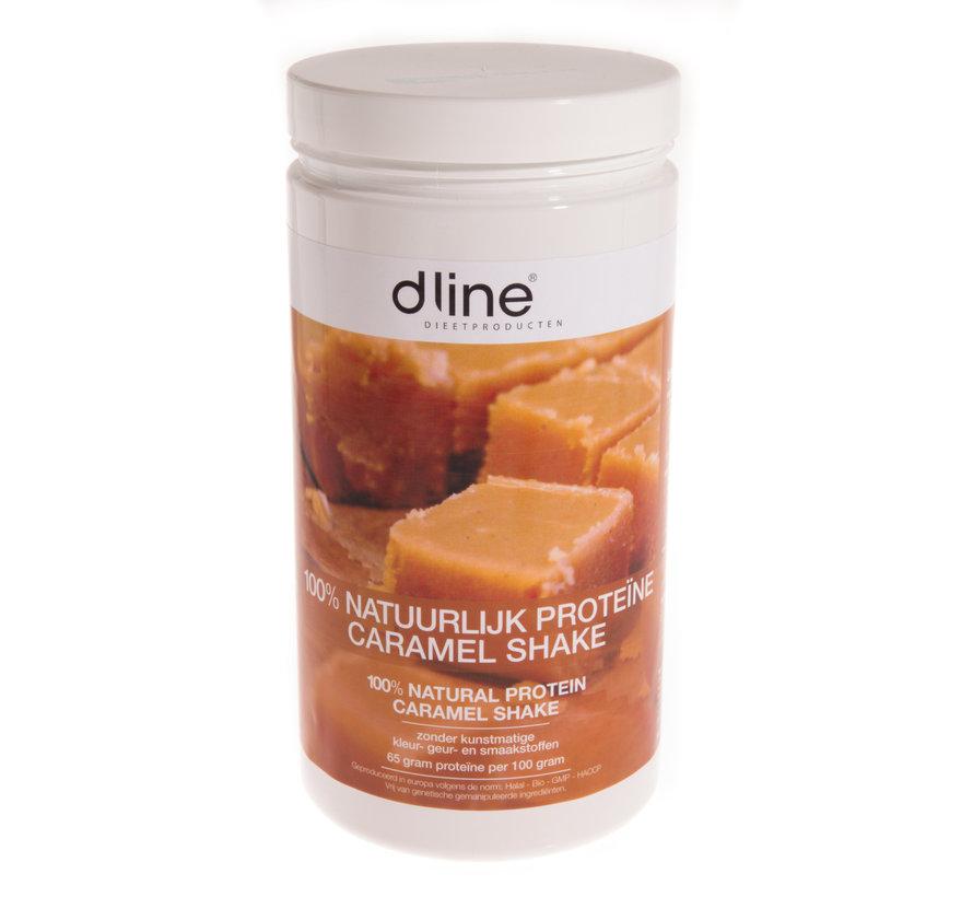 Caramel proteïnedieet shake 510 gram