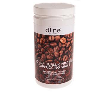 Dline Cappuccino proteïnedieet shake 510 gram