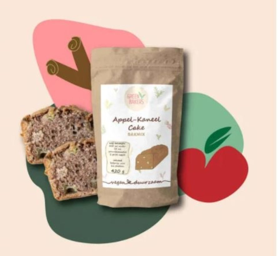 Appel-Kaneel Cake Bakmix 420 gram