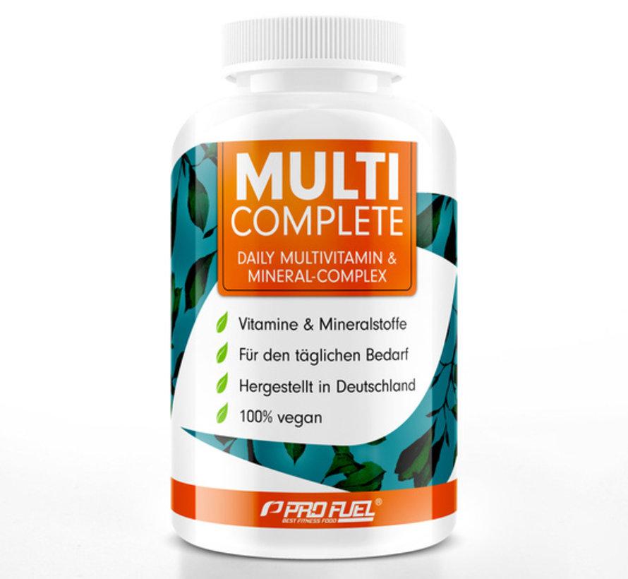 MULTI COMPLETE Multivitamine & Mineralen Complex 180 Capsules