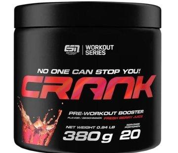 ESN  Crank Pre-Workout Booster, 380 g, Verse Bessensap