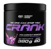 ESN  Crank Pre-Workout Booster, 380 g, Blackberry