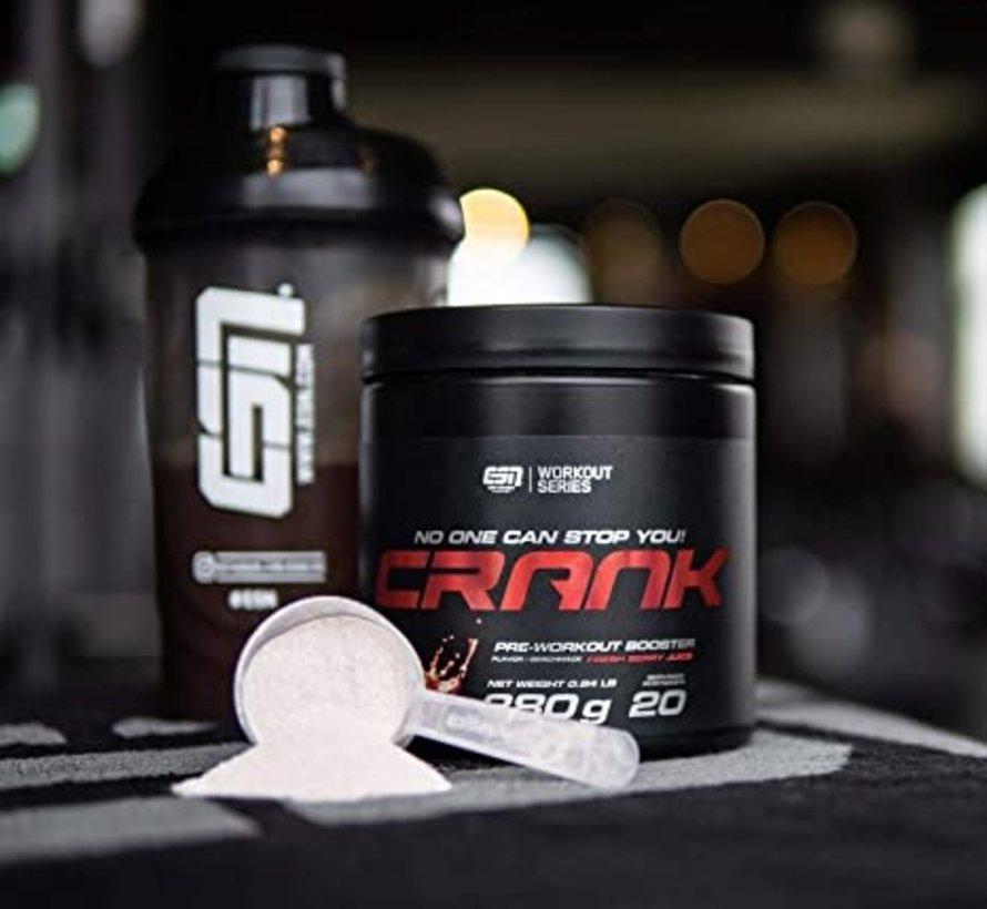 Crank Pre-Workout Booster, 380 g, Verse Bessensap
