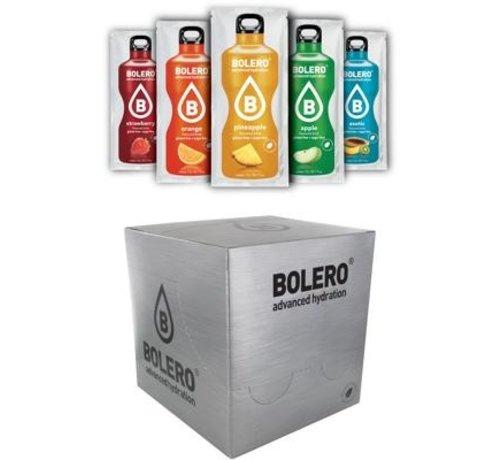 Bolero  limonade Drinks, 24 smaken proefpakket. Laat je verrassen! Slechts 3,95 verzendkosten.