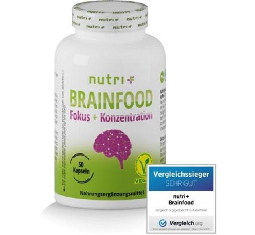 Brainfood Orthomoleculair 50 capsules
