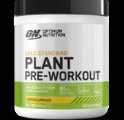 Optimum Nutrition Gold Standard Plant Pre-Workout, 240 g Lemon Limeade