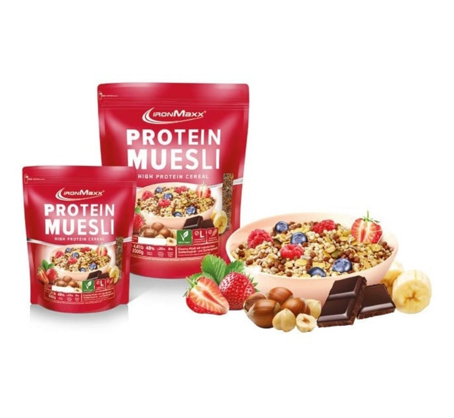 Protein Muesli Framboos 550 gram