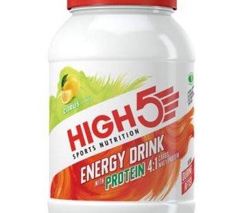 HIGH5 Energy Drink Citrus 4:1 (met proteïne), 1600 gram