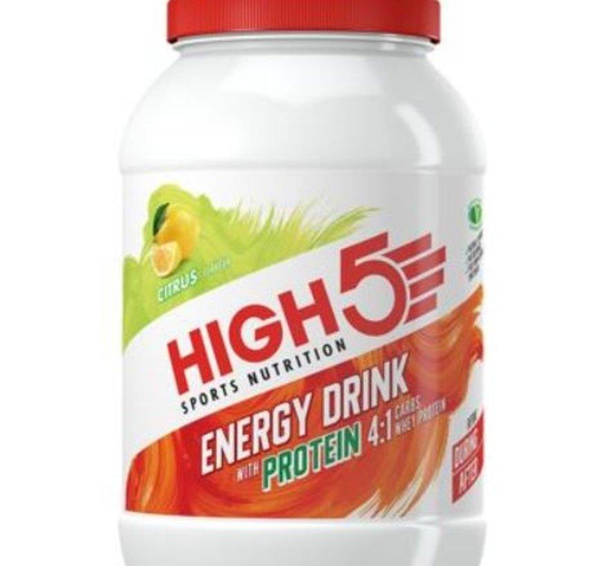 Energy Drink Citrus 4:1 (met proteïne), 1600 gram