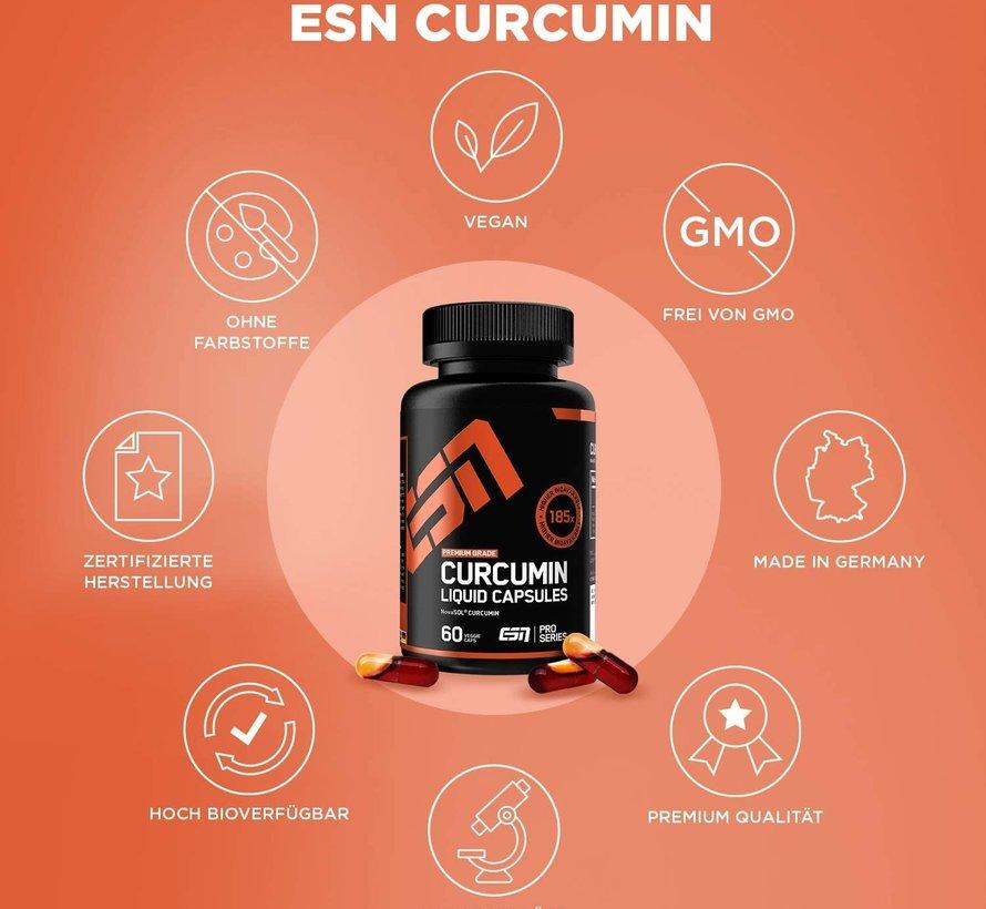 CURCUMA Curcumin Liquid 60 Capsules