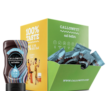 Callowfit test sachets Sauzen & Dressing, kies je favoriete smaak.