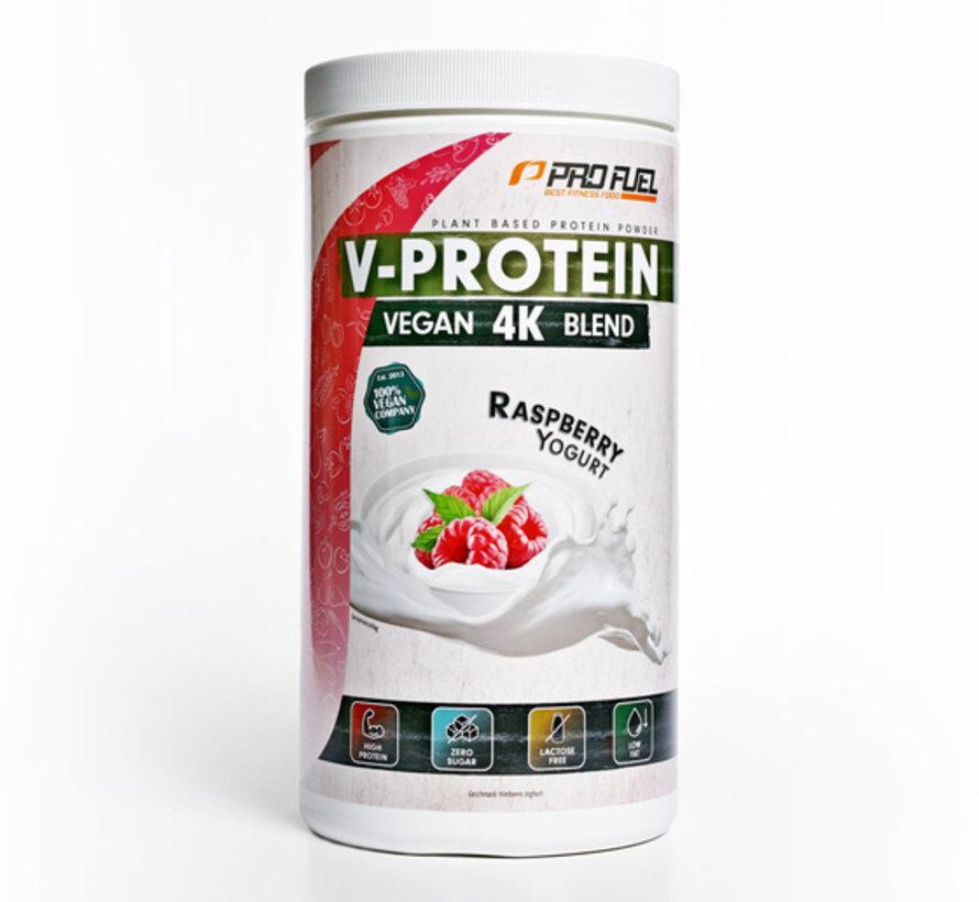 V-Protein 4K Blend Raspberry Yogurt 750 gram