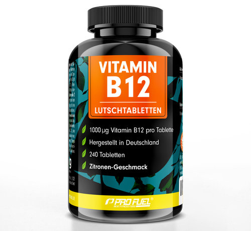 ProFuel VITAMINE B12  240 zuigtabletten  Citroen