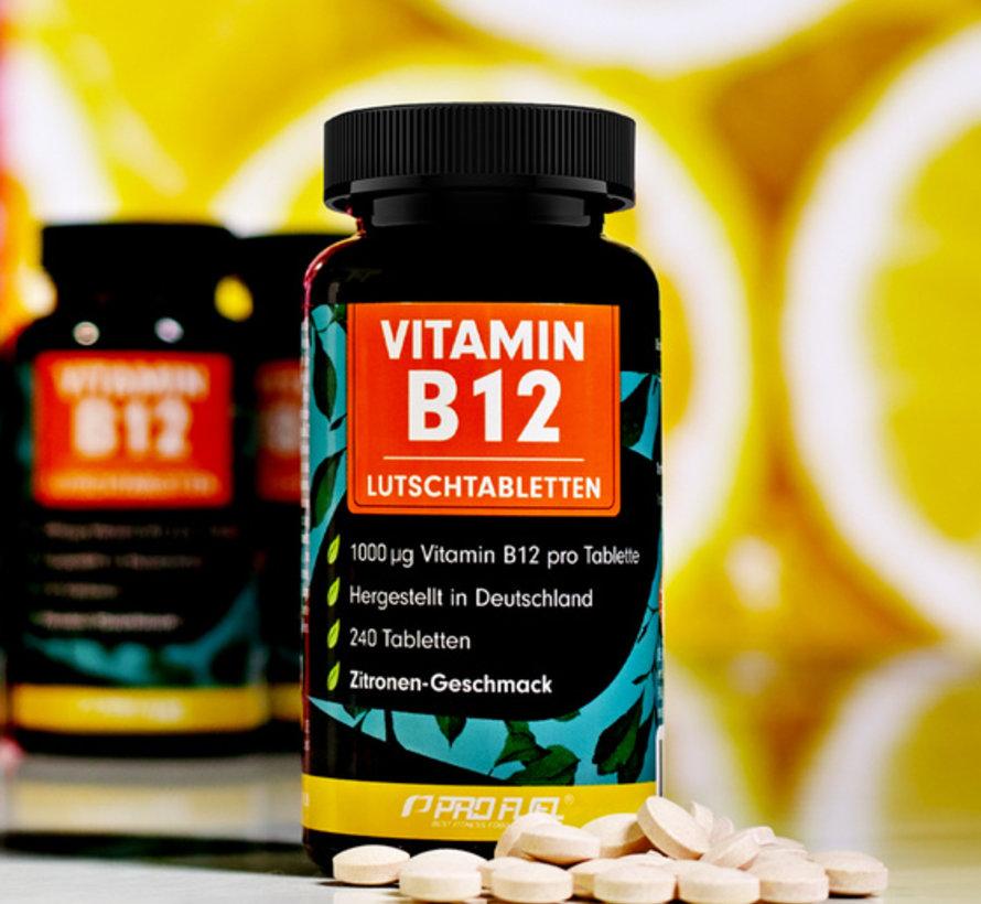VITAMINE B12  240 zuigtabletten  Citroen
