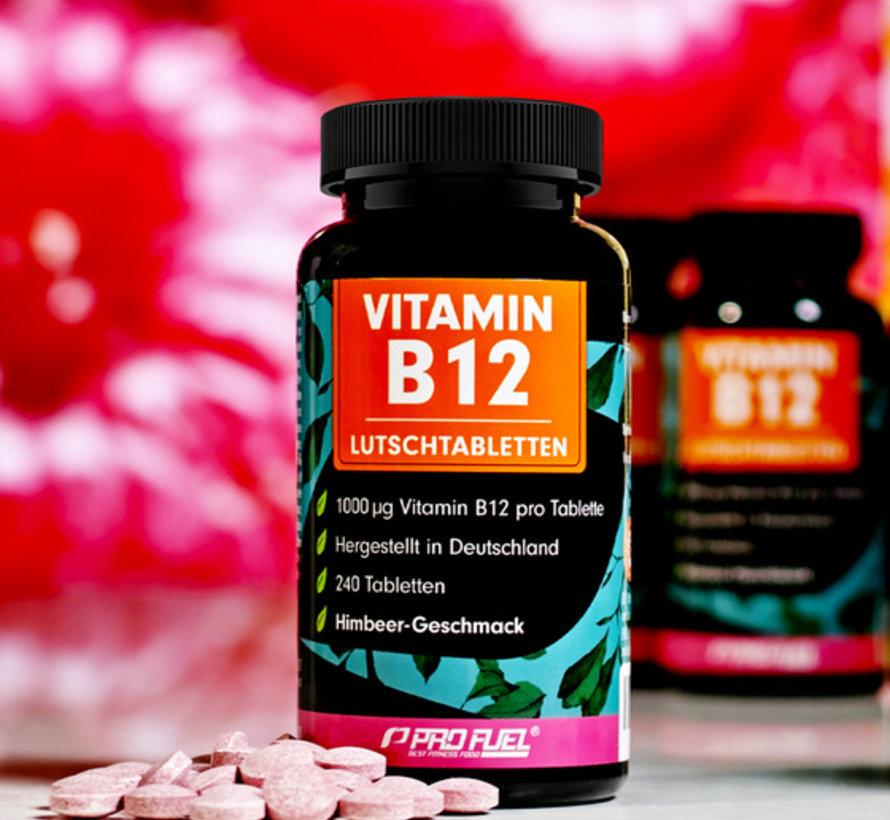 VITAMINE B12  240 zuigtabletten  Framboos