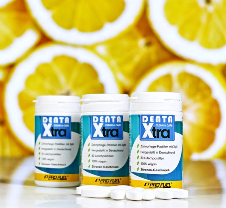 DENTA Xtra 30 tandverzorgingspastilles citroen