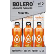 Bolero  Sticks, smaak Mandarin (12x3 gram)