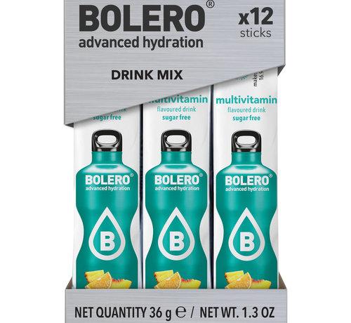 Bolero  Sticks, smaak Multivitamin (12x3 gram)
