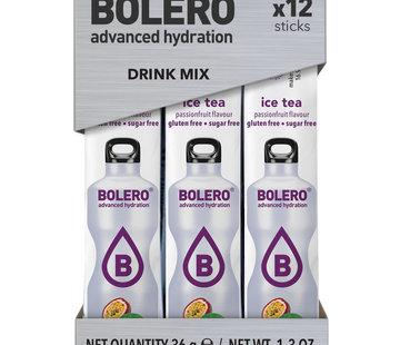 Bolero  Sticks, smaak Ice Tea Passionfruit (12x3 gram)