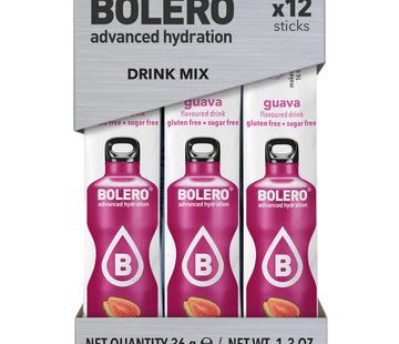 Bolero  Sticks, smaak Guava (12x3 gram)