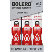 Bolero  Sticks, smaak Guarana (12x3 gram)