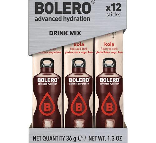 Bolero  Sticks, smaak Kola (12x3 gram)
