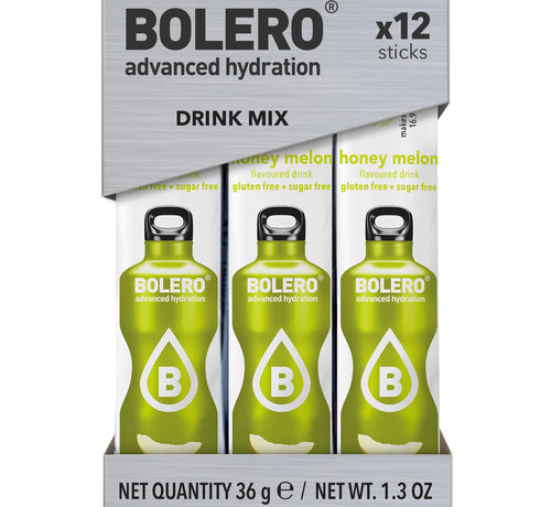 Bolero  Sticks, smaak Honey Melon (12x3 gram)