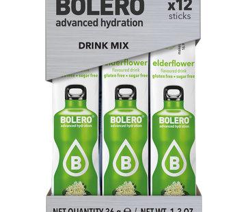 Bolero  Sticks, smaak Elderflower (12x3 gram)