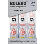 Bolero  Sticks, smaak Ice Tea Peach (12x3 gram)