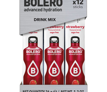 Bolero  Sticks, smaak Strawberry (12x3 gram)