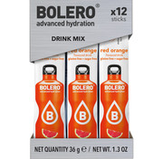 Bolero  Sticks, smaak Red Orange (12x3 gram)