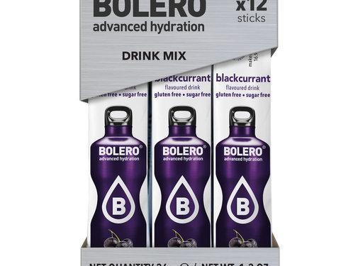 Bolero  Sticks, smaak Blackcurrant (12x3 gram)