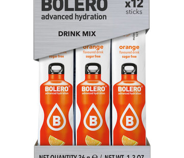 Bolero  Sticks, smaak Orange (12x3 gram)