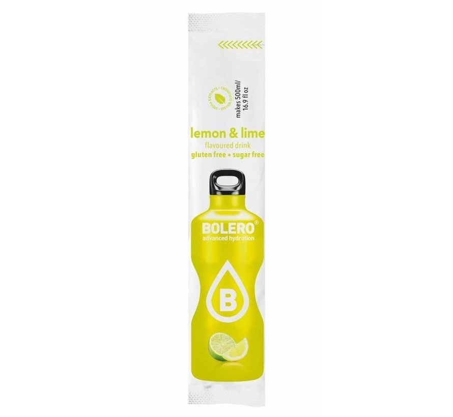 Sticks, smaak Lemon & Lime (12x3 gram)
