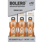 Bolero  Sticks, smaak Ginger (12x3 gram)