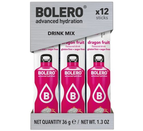 Bolero  Sticks, smaak Dragon Fruit (12x3 gram)